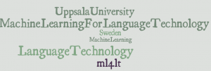 Machine Learning for Language Technology